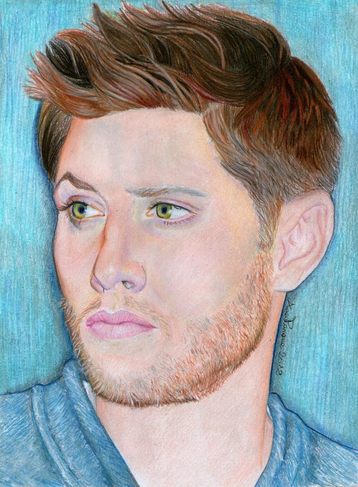 Jensen Ackles by AnnaPavone